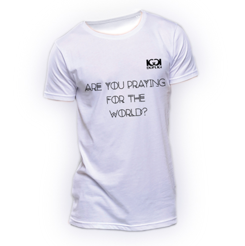 maglia sarah 1 - ARE YOU PRAYING FOR THE WORLD?