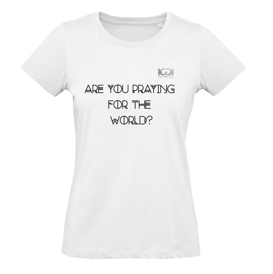 maglia sarah - ARE YOU PRAYING FOR THE WORLD?