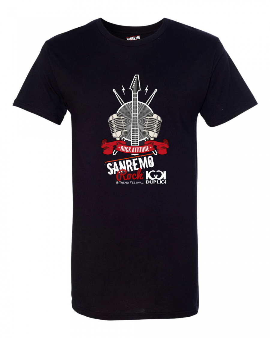 T-SHIRT LONGER SANREMO ROCK
