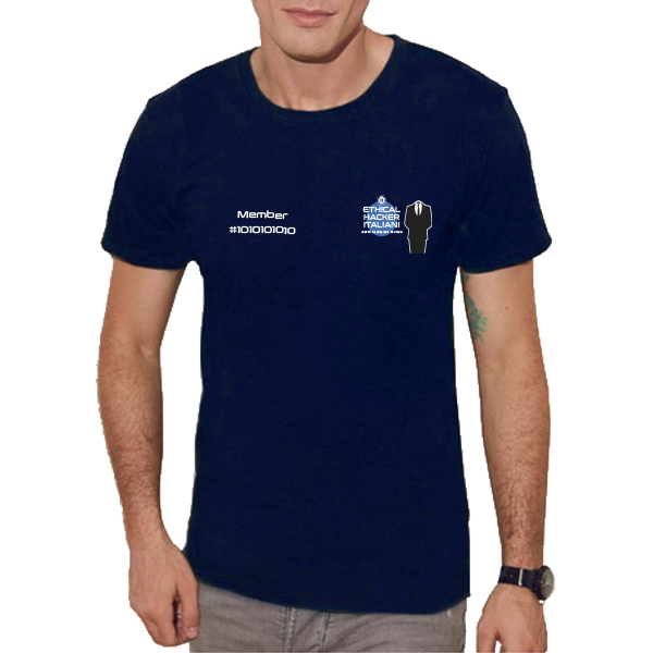 T-shirt girocollo Ethical Hacker