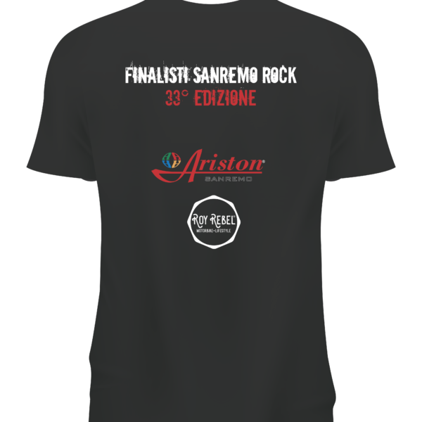 T-SHIRT SANREMO ROCK FINALISTI
