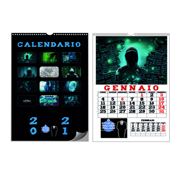 CALENDARIO 2021 ETHICAL HACKER