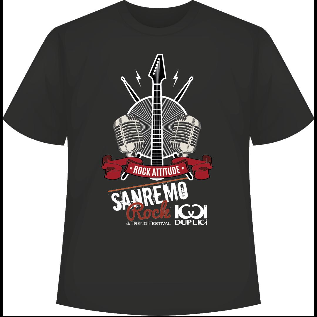 SANREMOROCK t shirt fronte 2 - SANREMO ROCK